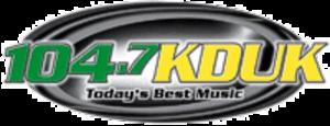 KDUK-FM - Image: KDUK FM