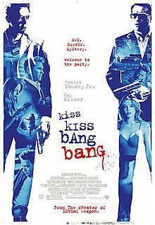 <i>Kiss Kiss Bang Bang</i> 2005 crime-comedy film directed by Shane Black