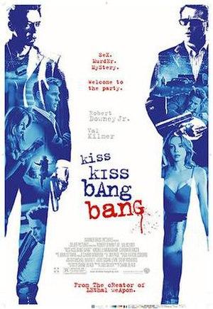 Kiss Kiss Bang Bang - Image: Kiss kiss bang bang poster