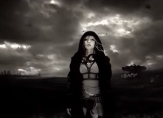 "Japonesque (album) - Koda in the music video for ""No Man's Land""."