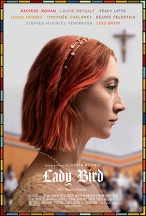 Lady Bird (film) - Theatrical release poster