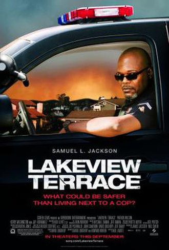 Lakeview Terrace - Theatrical release poster