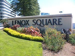 Lenox Square - The exterior sign of Lenox Square.