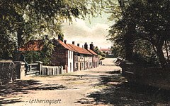 Letheringsett Norfolk UK ca 1910.jpg