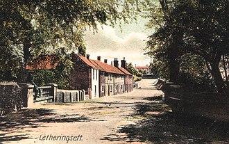 Letheringsett with Glandford - Image: Letheringsett Norfolk UK ca 1910