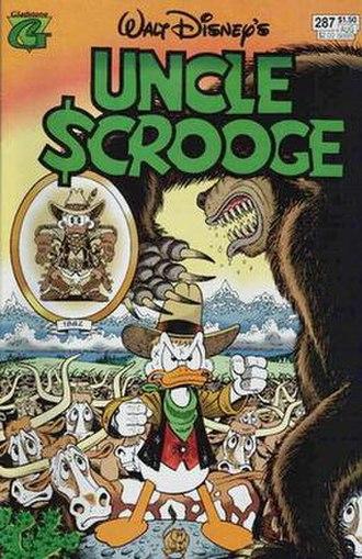 The Buckaroo of the Badlands - Original cover of The Buckaroo of the Badlands. Art by Don Rosa.