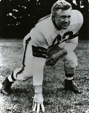 Lin Houston - Houston while playing for the Cleveland Browns