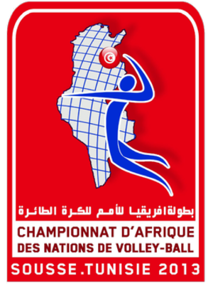 2013 Men's African Volleyball Championship - Image: Logo Afro Volley 2013 Tunisia