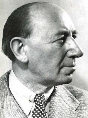 Lucian Bernhard - Image: Lucien Bernhard 1955