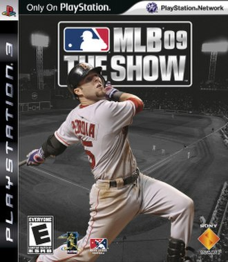 MLB 09: The Show - Cover art