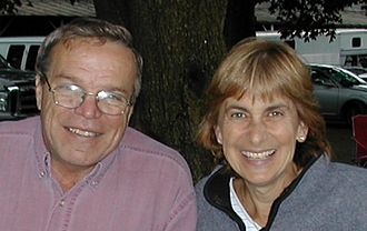 Funny Cide - Joe and Anne McMahon, owners of the farm where Funny Cide was foaled