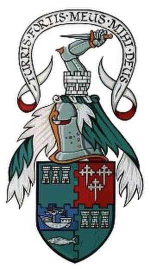 Clan MacQuarrie -  Coat of arms belonging to the Chief of the MacQuarries of Ulva.