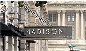 Madison Hotel (Memphis, Tennessee) - Image: Madison Hotel Facade Memphis Law