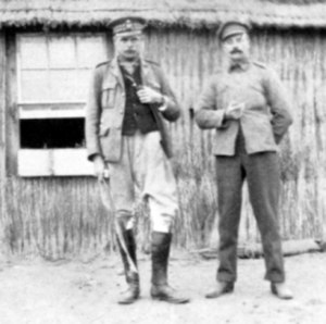 Hugh Trenchard, 1st Viscount Trenchard - Trenchard (shown left) in South Africa
