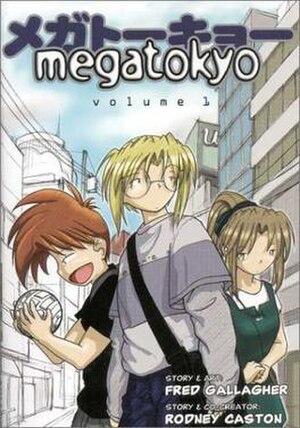 Megatokyo - Image: Megatokyo vol 1 1st edition