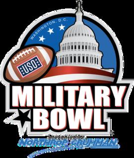 2010 Military Bowl annual NCAA football game