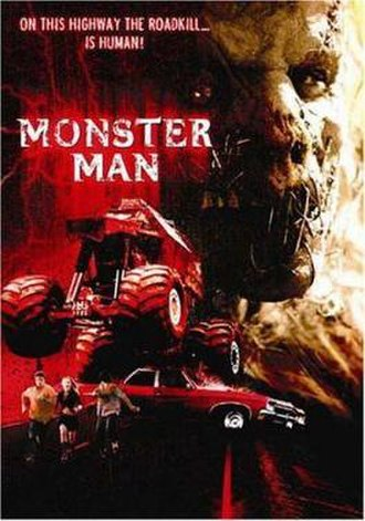 Monster Man (film) - Theatrical release poster