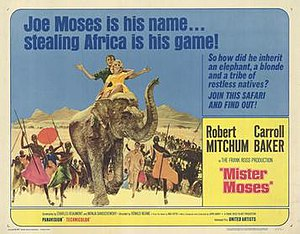 Mister Moses - Original film poster