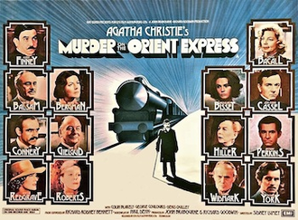 Murder on the Orient Express (1974 film) - Original British quad format film poster