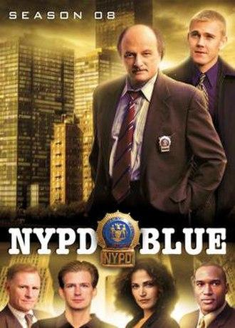 NYPD Blue (season 8) - Season 8 U.S. DVD Cover