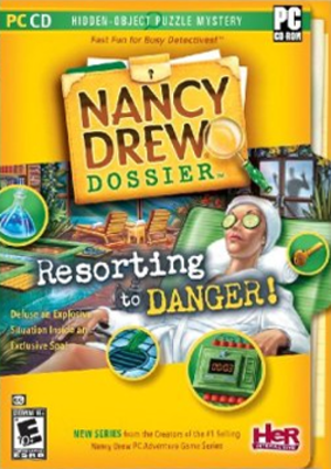 Nancy Drew Dossier: Resorting to Danger - Image: Nancy Drew Dossier Resorting to Danger Coverart