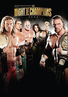 Night of Champions (2008) 2008 World Wrestling Entertainment pay-per-view event
