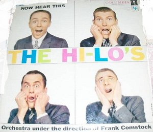 Now Hear This (The Hi-Lo's album) - Image: Now Hear This (The Hi Lo's album)