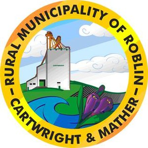 Rural Municipality of Roblin - Official Emblem of Cartwright-Mather-RM of Roblin