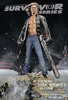 Survivor Series (2007) 2007 World Wrestling Entertainment pay-per-view event