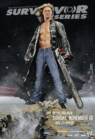 Survivor Series (2007) - Promotional poster featuring Edge
