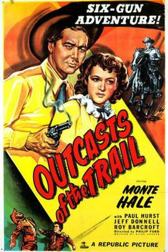 Outcasts of the Trail - Theatrical release poster
