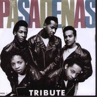 The Pasadenas - Clockwise from bottom left:  David Milliner, Aaron Brown, Andrew Banfield, Hamish Seelochan and Michael Milliner.
