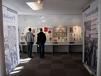 """GLBT Historical Society - The """"Passionate Struggle"""" exhibition at the GLBT Historical Society's temporary museum in the Castro neighborhood (Feb. 7, 2009)."""