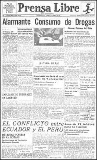 Prensa Libre - Image: Prensa Libre Guatemala first edition