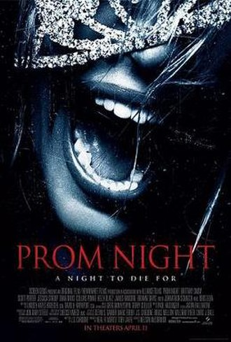 Prom Night (2008 film) - Theatrical release poster