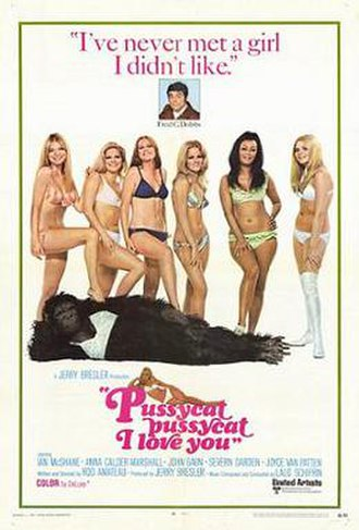 Pussycat, Pussycat, I Love You - Theatrical release poster