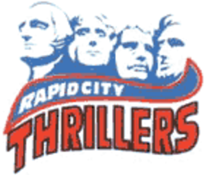 Rapid City Thrillers - Image: RC Thrillers 2