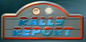 Rally Report - A Rally Report logo