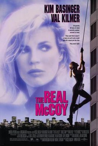 The Real McCoy (film) - Theatrical release poster