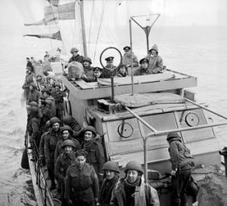 1st Parachute Brigade (United Kingdom) - Men of 'C' Company, 2nd Parachute Battalion returning from the Bruneval raid.
