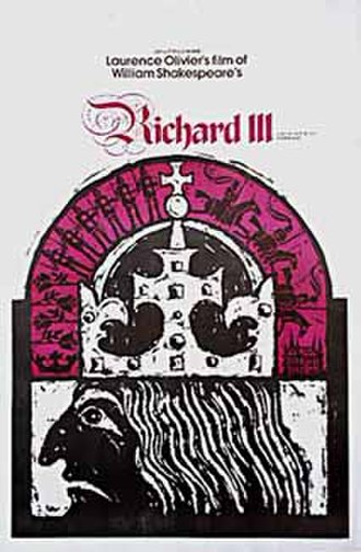 Richard III (1955 film) - Theatrical re-release poster