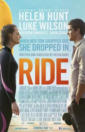 Ride (2014 film) - Theatrical release poster