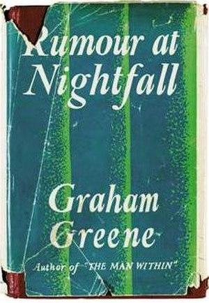 Rumour at Nightfall - First edition (publ. Heinemann)
