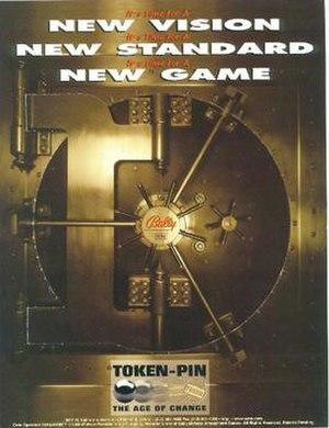 Safe Cracker (pinball) - Image: Safecracker pinball