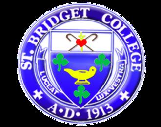 St. Bridget College - Image: Saint Bridget College's Seal 2
