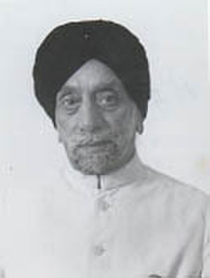 Speaker of the Lok Sabha - Image: Sardar Hukam Singh