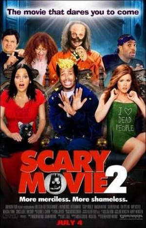Scary Movie 2 - Theatrical release poster