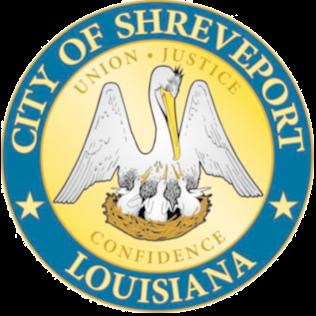 Official seal of Shreveport, Louisiana