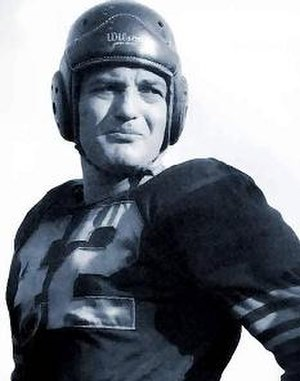 Sid Luckman - Luckman with the Chicago Bears