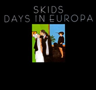 Days in Europa - Image: Skids Days In Europa Second release